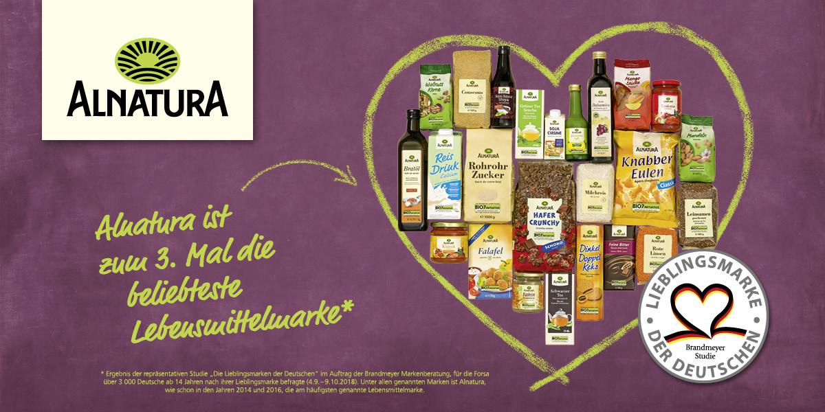 Lieblingsmarke der Deutschen!